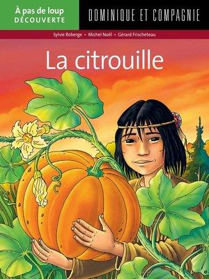 cover image of La citrouille