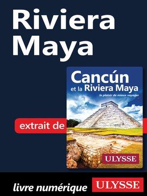 cover image of Riviera Maya
