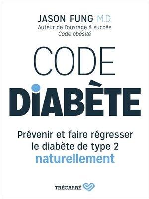 cover image of Code diabète