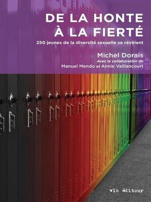 cover image of De la honte à la fierté