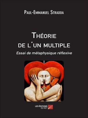 cover image of Théorie de l'un multiple