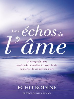 cover image of Les échos de l'âme