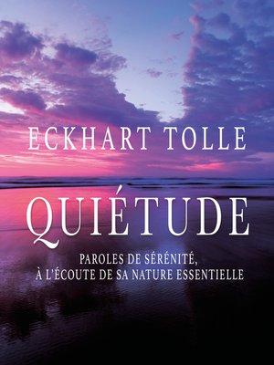 cover image of Quiétude