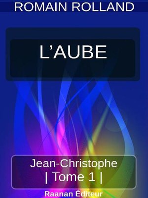 cover image of JEAN-CHRISTOPHE 1--L'AUBE