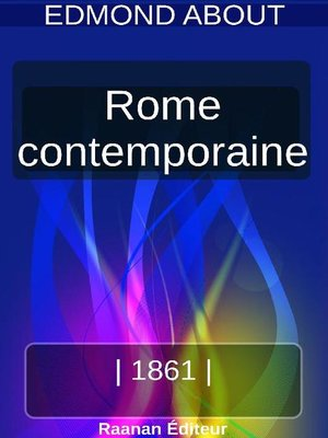 cover image of Rome contemporaine