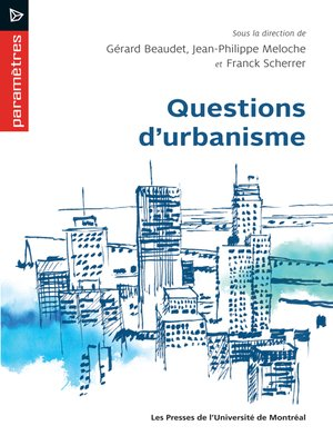 cover image of Questions d'urbanisme