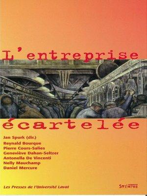 cover image of Entreprise écartelée