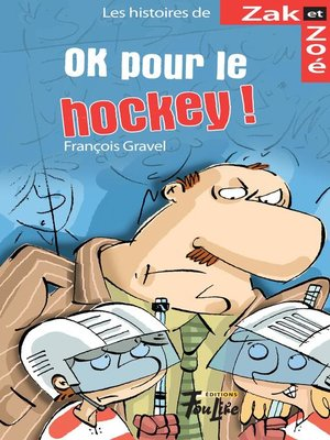 cover image of OK pour le hockey!