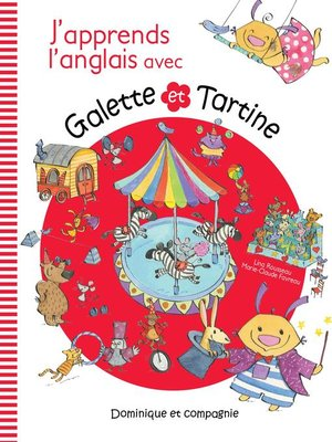 cover image of J'apprends l'anglais avec Galette and Tartine