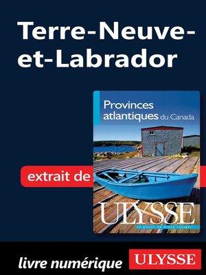 cover image of Terre-Neuve-et-Labrador
