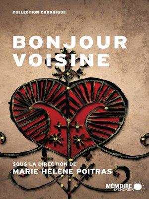 cover image of Bonjour voisine
