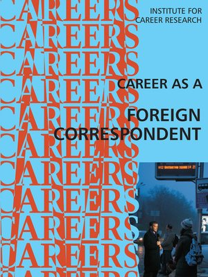 cover image of Career as a Foreign Correspondent