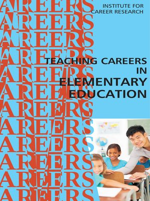 cover image of Career as an Elementary Teacher
