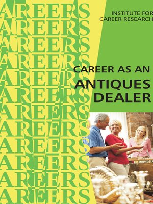 cover image of Careers in Antiques and Collectibles