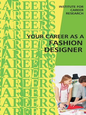 cover image of Career as a Fashion Designer