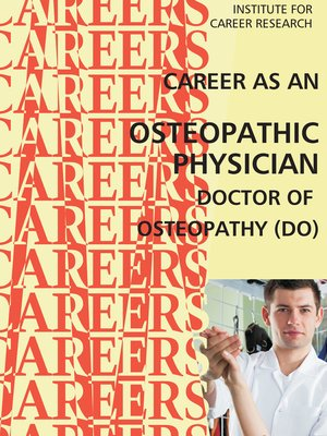 cover image of Career as an Osteopathic Physician