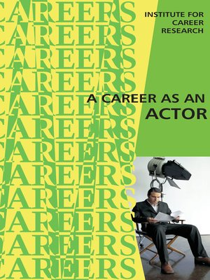 cover image of Career as an Actor - Film and TV