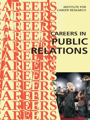 cover image of Careers in Public Relations
