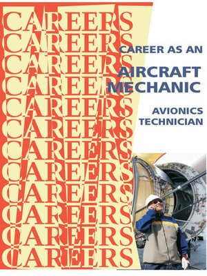 cover image of Career as an Aircraft Mechanic/Avionics Technician