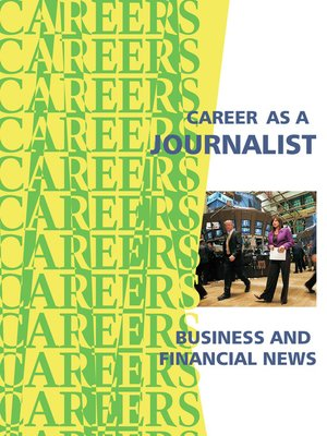 cover image of Career as a Journalist - Business & Financial