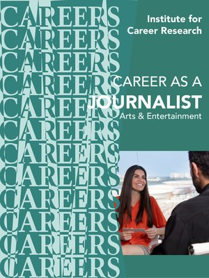 cover image of Career as a Journalist- Arts and Entertain