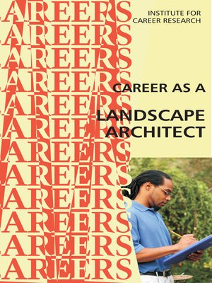 cover image of Career as a Landscape Architect