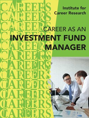cover image of Career as an Investment Fund Manager