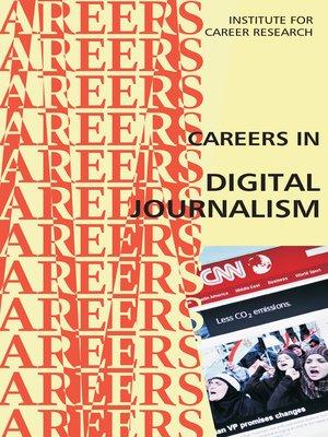 cover image of Careers in Digital Journalism