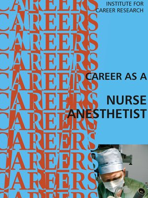 cover image of Career as a Nurse Anesthetist