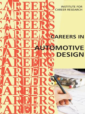 cover image of Career as an Automotive Design Engineer
