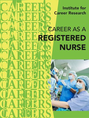 cover image of Career as a Registered Nurse