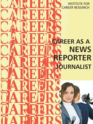cover image of Career as a News Reporter_Journalist