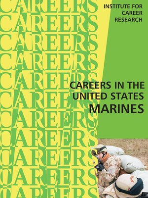 cover image of Careers in the United States Marines