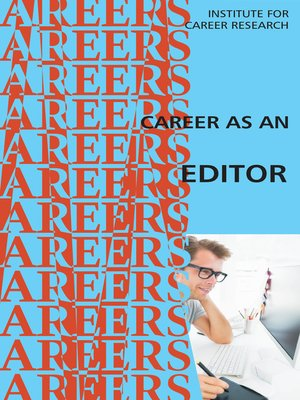 cover image of Career as an Editor