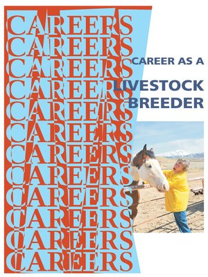 cover image of Career as a Livestock Breeder