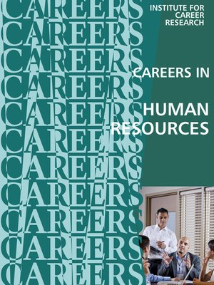 cover image of Careers In Human Resources