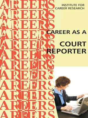 cover image of Career as a Court Reporter