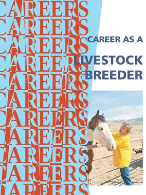 cover image of Career as a Livestock Breeder/Rancher