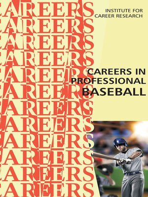 cover image of Careers in Professional Baseball