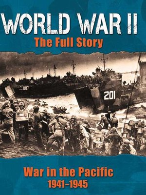 cover image of War in the Pacific 1941-1945
