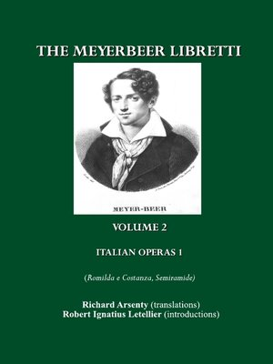 cover image of The Meyerbeer Libretti