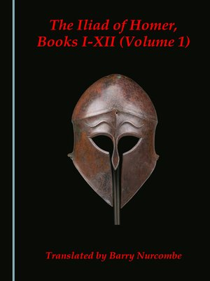 cover image of The Iliad of Homer, Volume 1