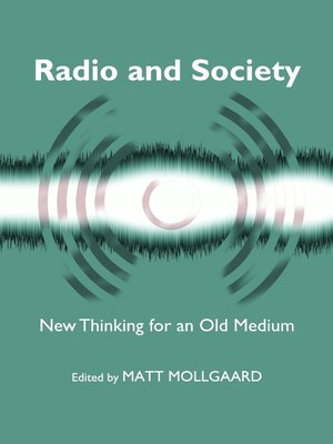 cover image of Radio and Society
