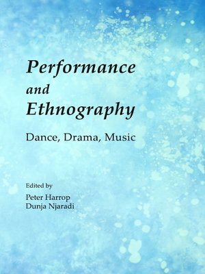 cover image of Performance and Ethnography