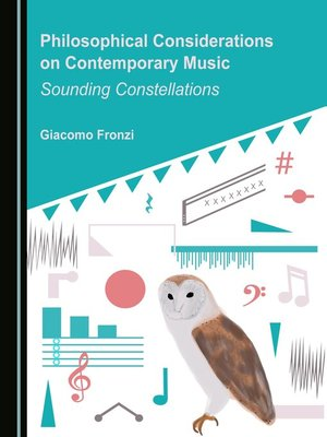 cover image of Philosophical Considerations on Contemporary Music