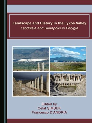 cover image of Landscape and History in the Lykos Valley