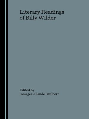 cover image of Literary Readings of Billy Wilder
