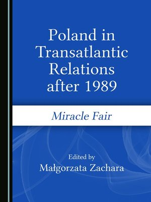 cover image of Poland in Transatlantic Relations after 1989
