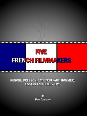 cover image of Five French Filmmakers