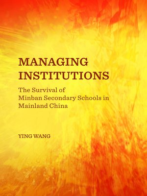 cover image of Managing Institutions